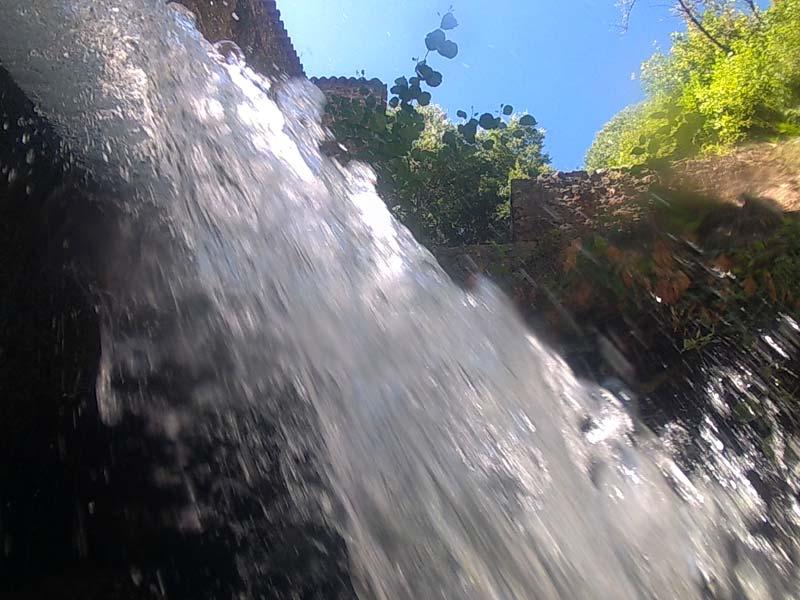Cascade du barrage