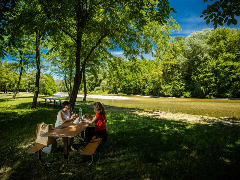 picknick-Fluss