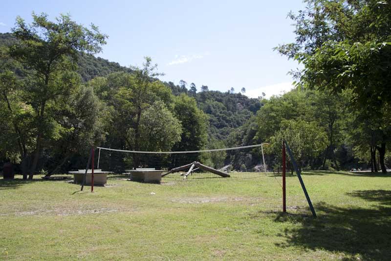 Volleybal veld