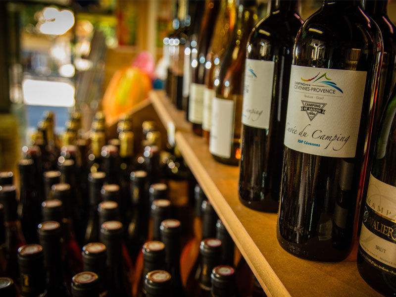Discover local and quality wines for sale at the store