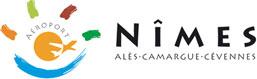 Logo aéroport de Nîmes