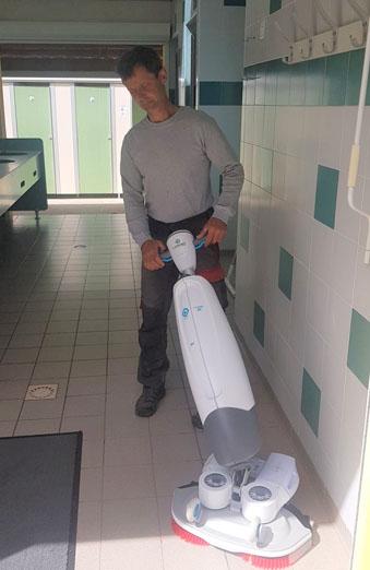 Laveuse à économie d'eau